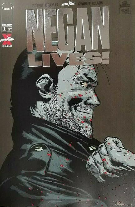 Image Comics Negan Lives #1 Comic Book [Silver Foil Variant]