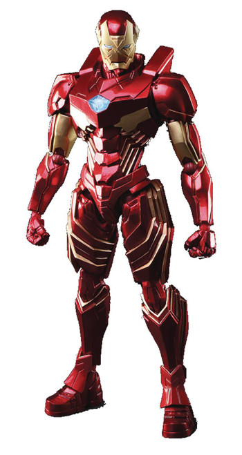 Marvel Universe Variant Bring Arts Iron Man Action Figure (Pre-Order ships January)