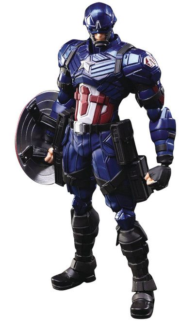 Marvel Universe Variant Bring Arts Captain America Action Figure (Pre-Order ships January)