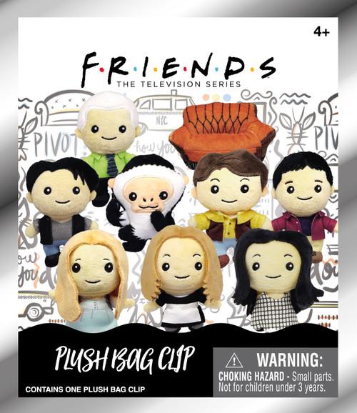 Warner Bros. Friends Series 1 Friends Plush Keyring Mystery Pack [1 RANDOM Figure]