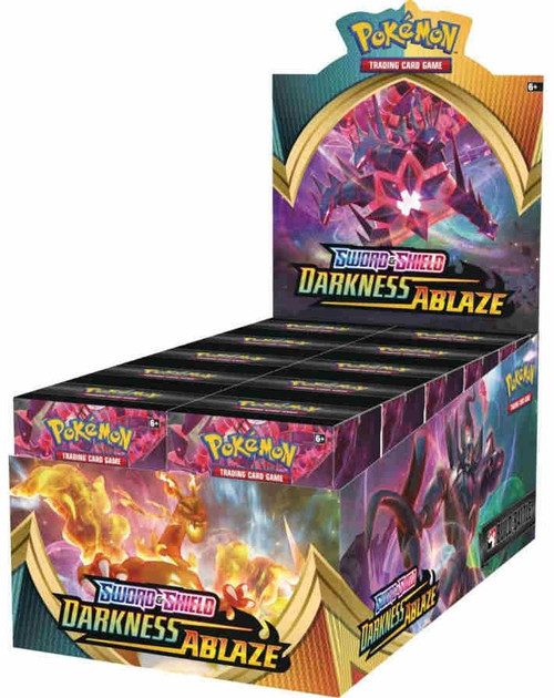 Pokemon Trading Card Game Sword & Shield Darkness Ablaze Build & Battle DISPLAY Box [10 Units]