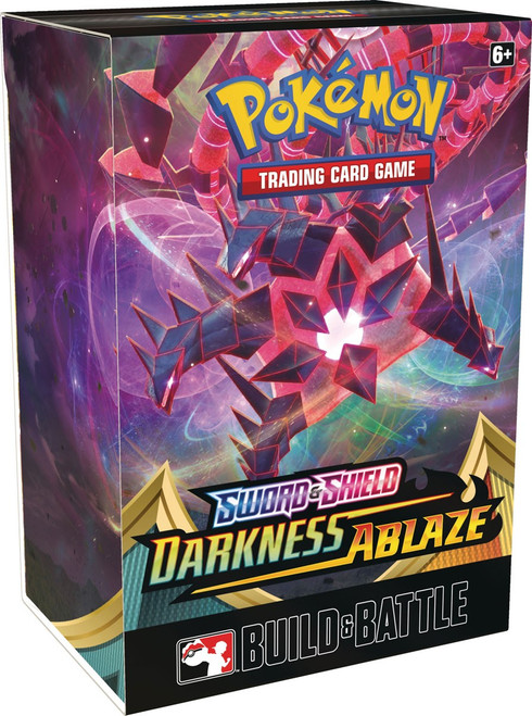 Pokemon Trading Card Game Sword & Shield Darkness Ablaze Build & Battle Box [4 Booster Packs & 23-Card Evolution Pack!]