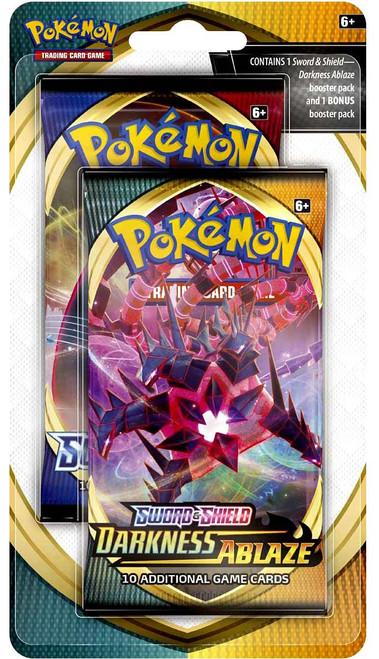 Pokemon Trading Card Game Sword & Shield Darkness Ablaze BONUS Pack [2x Sword & Shield Booster Packs!]