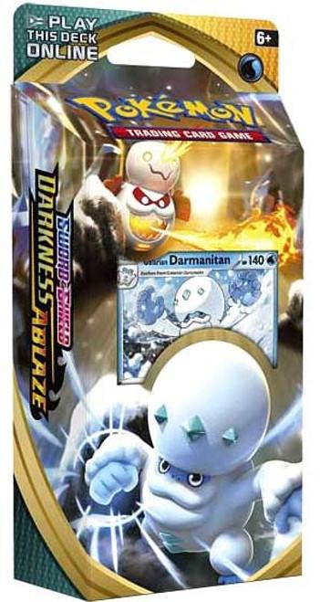 Pokemon Trading Card Game Sword & Shield Darkness Ablaze Galarian Darmanitan Theme Deck