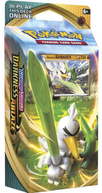 Pokemon Trading Card Game Sword & Shield Darkness Ablaze Galarian Sirfetch'd Theme Deck