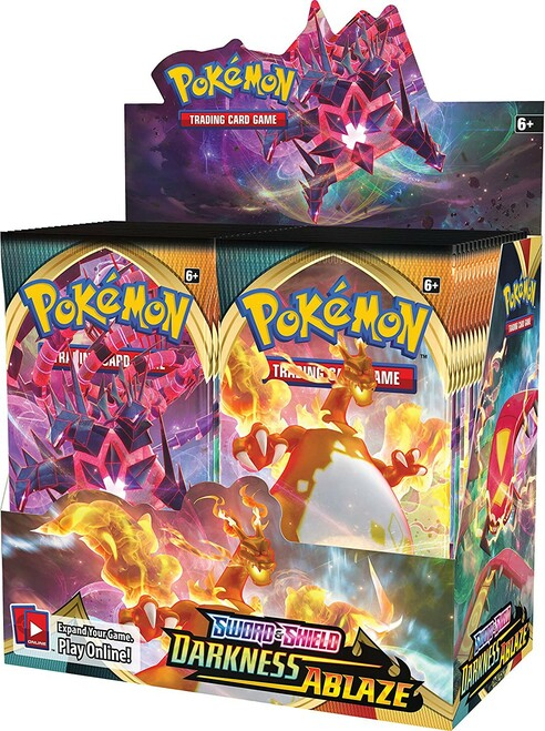 Pokemon Trading Card Game Sword & Shield Darkness Ablaze Booster Box [36 Packs]