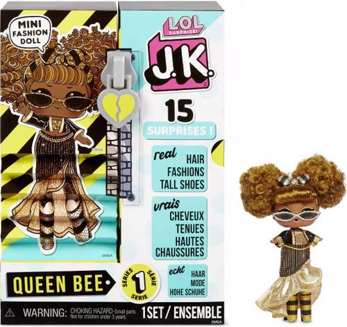 LOL Surprise JK Queen Bee Mini Fashion Doll