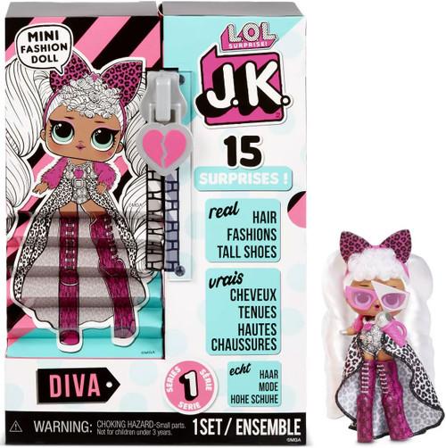 LOL Surprise JK Diva Mini Fashion Doll