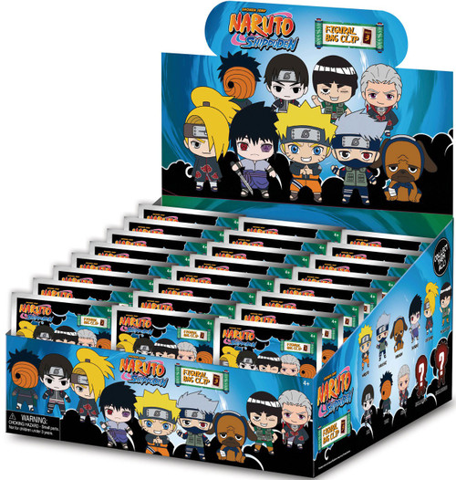 3D Figural Keyring Naruto Shippuden Series 3 Mystery Box [24 Packs] (Pre-Order ships March)