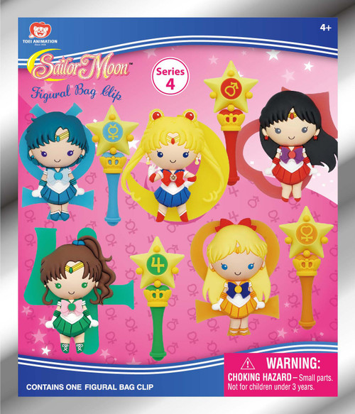 3D Figural Keyring Sailor Moon Series 4 Mystery Pack (Pre-Order ships January)