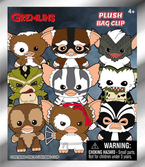 Gremlins Plush Clip Mystery Pack