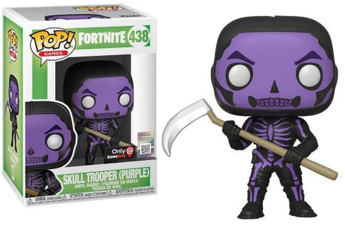 Funko Fortnite POP! Games Skull Trooper Exclusive Vinyl Figure #438 [Purple]