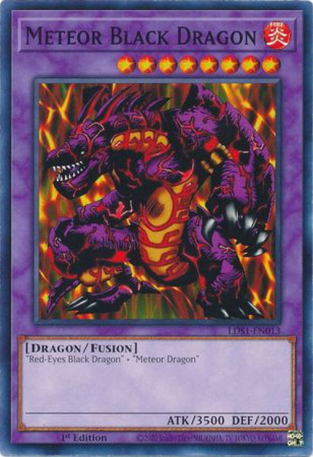 YuGiOh Legendary Duelists: Season 1 Common Meteor Black Dragon LDS1-EN013