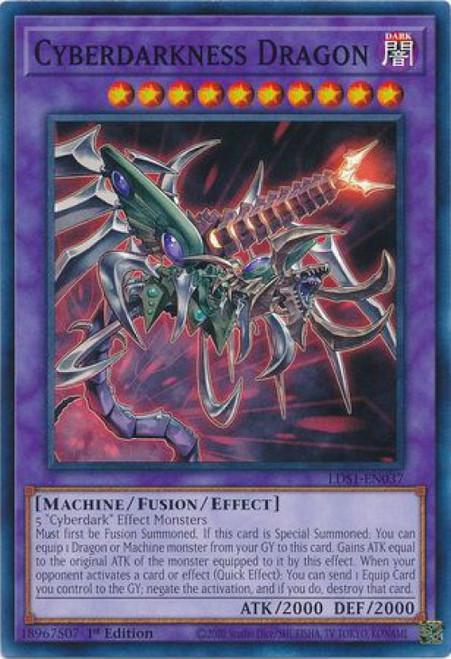 YuGiOh Legendary Duelists: Season 1 Common Cyberdarkness Dragon LDS1-EN037