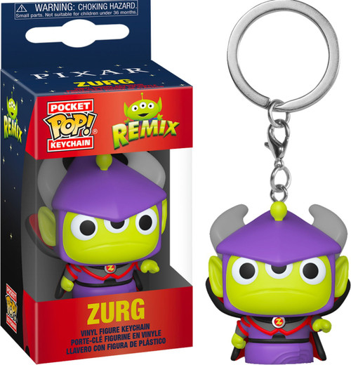 Funko Disney / Pixar Pocket POP! Alien as Zurg Keychain