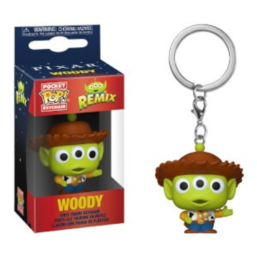 Funko Disney / Pixar Pocket POP! Alien as Woody Keychain