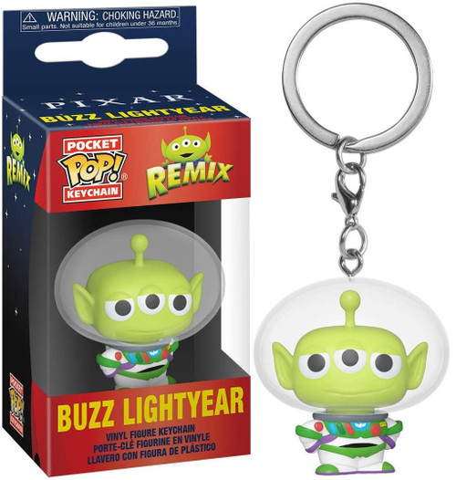 Funko Disney / Pixar Pocket POP! Alien as Buzz Keychain