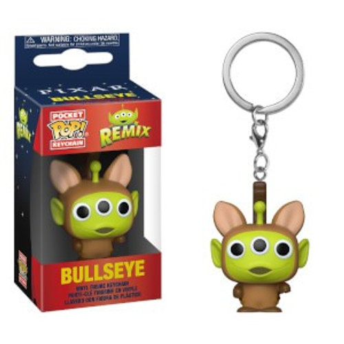 Funko Disney / Pixar Pocket POP! Alien as Bullseye Keychain