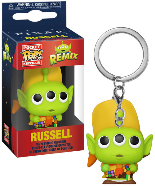 Funko Disney / Pixar Pocket POP! Alien as Russell Keychain