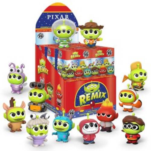 Funko Disney / Pixar Mystery Minis Alien Remix Mystery Box [12 Packs]