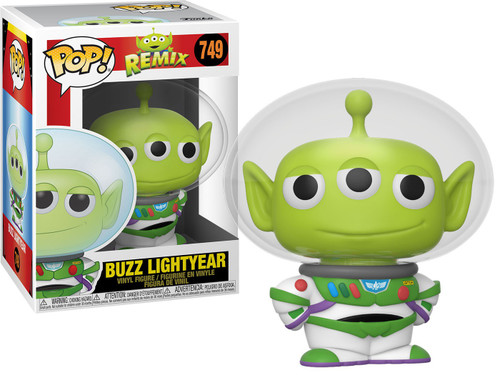Funko Disney / Pixar POP! Disney Alien as Buzz Vinyl Figure
