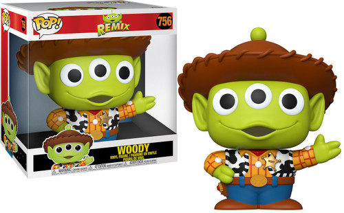 Funko Disney / Pixar POP! Disney Alien as Woody 10-Inch Vinyl Figure
