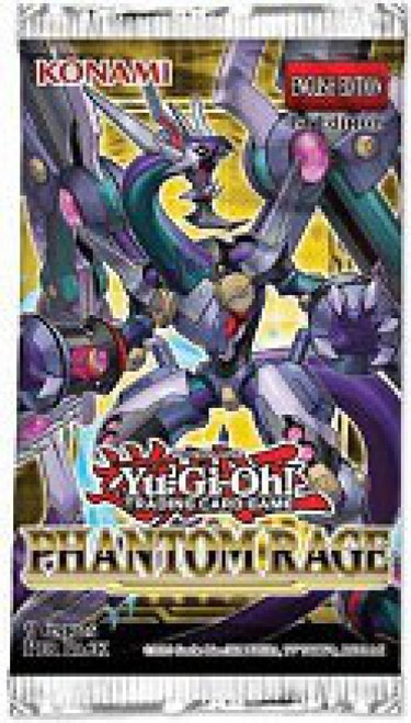 YuGiOh Trading Card Game Phantom Rage Booster Pack [7 Cards] (Pre-Order ships November)