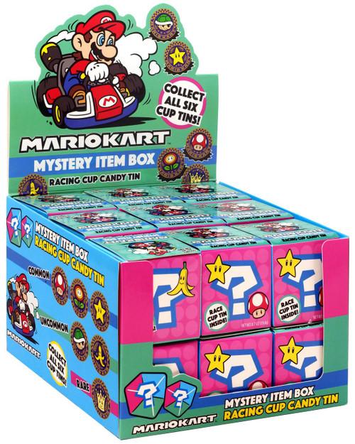 Super Mario Mario Kart Candy Tin Mystery Box