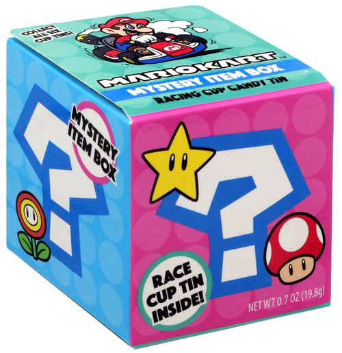 Super Mario Mario Kart Candy Tin Mystery Pack