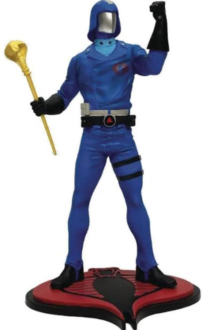 GI Joe Cobra Commander Collectible PVC Statue