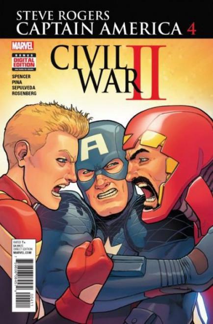 Marvel Captain America: Steve Rogers #4 Comic Book