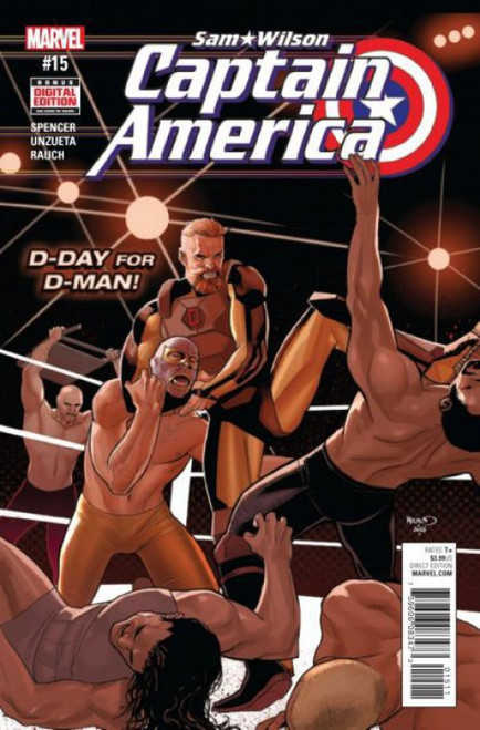 Marvel Captain America: Sam Wilson #15 Comic Book