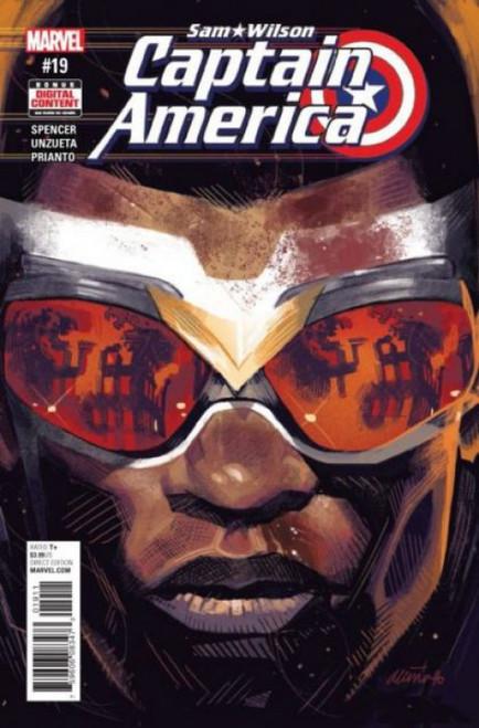 Marvel Captain America: Sam Wilson #19 Comic Book