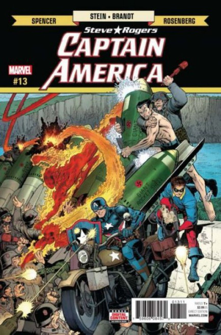 Marvel Captain America: Steve Rogers #13A Comic Book
