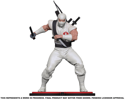 GI Joe Storm Shadow Collectible PVC Statue