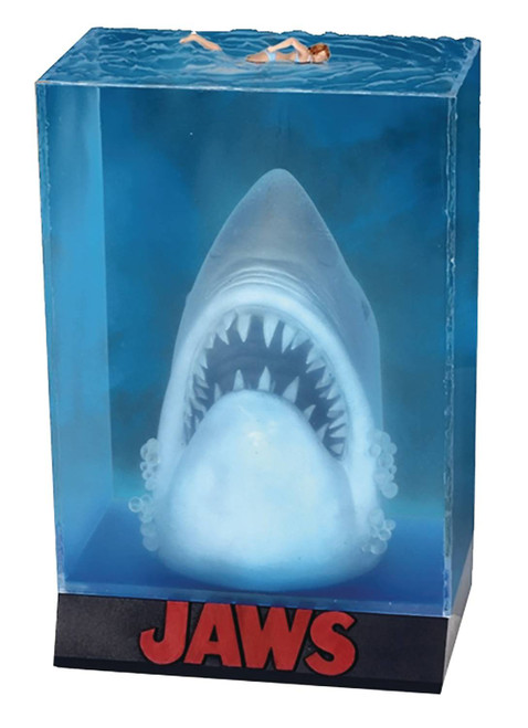 Jaws Poster Diorama (Pre-Order ships January)