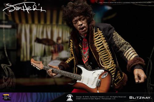 Jimi Hendrix Deluxe Collectible Figure