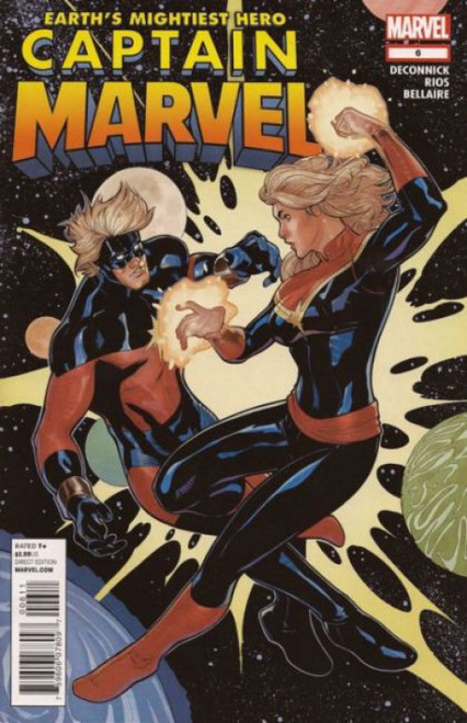 Captain Marvel, Vol. 8 #6 Comic Book