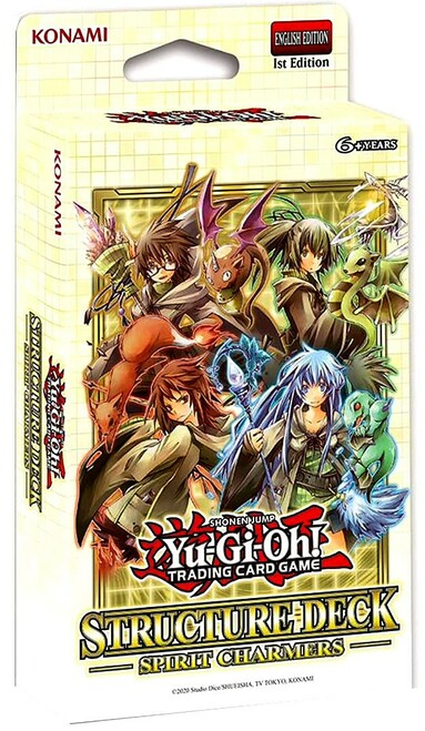 YuGiOh Trading Card Game Spirit Charmers Structure Deck