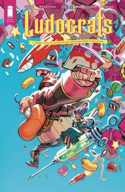 Image Comics Ludocrats #2A Comic Book