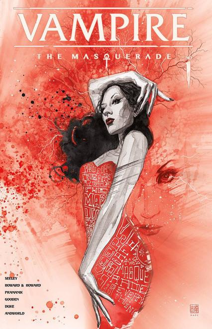 Vault Comics Vampire the Masquerade Comic Book [David Mack FOIL Cover D]