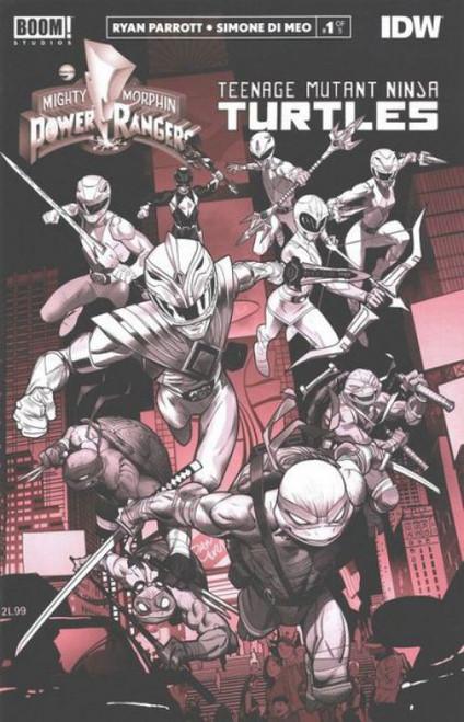 Boom! Studios Power Rangers / Teenage Mutant Ninja Turtles #1I Comic Book