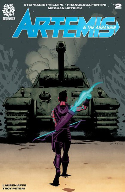 Aftershock Comics Artemis and the Assassin #2A Comic Book