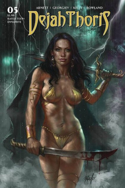 Dynamite Entertainment Dejah Thoris, Vol. 3 #5A Comic Book