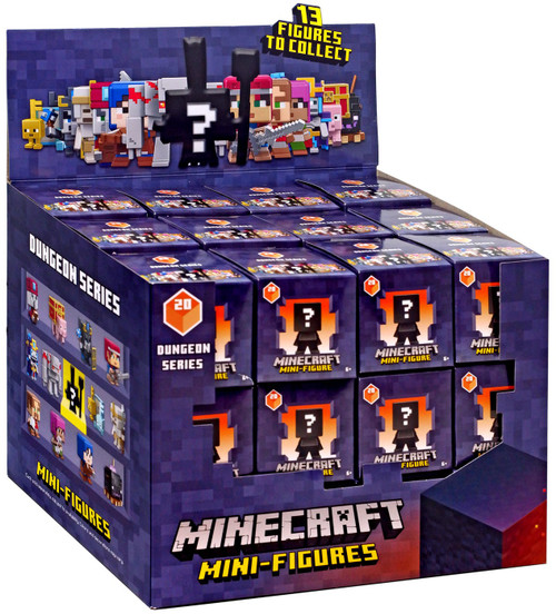Minecraft Dungeons Series 20 Mystery Box [36 Packs]