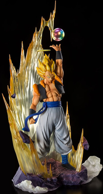 "Dragon Ball Figuarts ZERO Super Saiyan Gogeta Exclusive 11.2"" Action Figure [Fusion Reborn]"