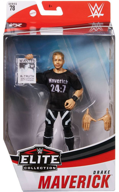 WWE Wrestling Elite Collection Series 78 Drake Maverick Action Figure