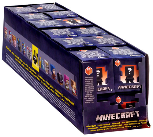 Minecraft Dungeons Series 20 Mystery Box [24 Packs]