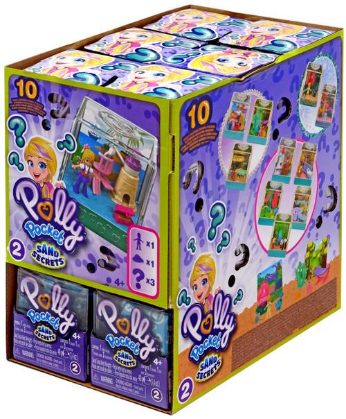 Polly Pocket Sand Secrets Series 2 Mystery Box [18 Packs]