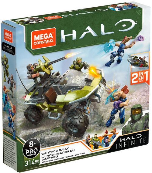 Halo Infinite Warthog Rally Set